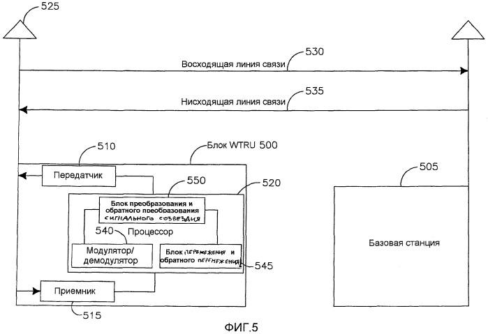 Способ и устройство для надежной передачи радиоблоков с совмещенными полями acк/nack