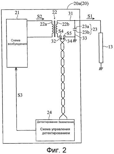 Схема инвертора, устройство подсветки и устройство отображения