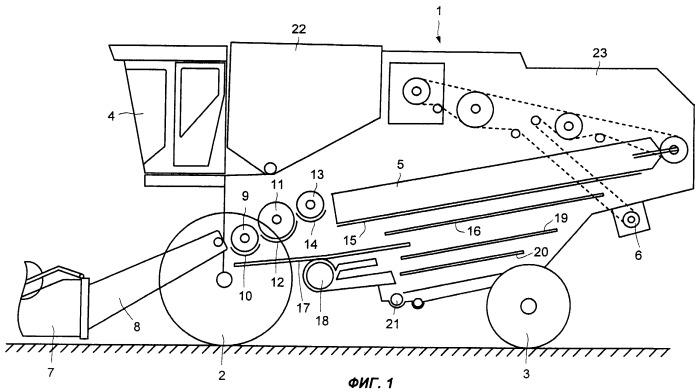 Приводное устройство для комбайна