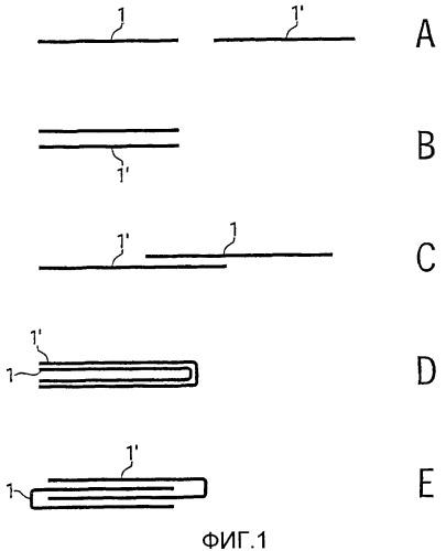 Кипа фильтрующего жгута, способ и устройство для изготовления кипы фильтрующего жгута, а также полоса фильтрующего жгута