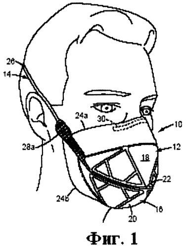Фильтрующая лицевая респираторная маска с основой, содержащей структуру из параллельных линий сварных швов