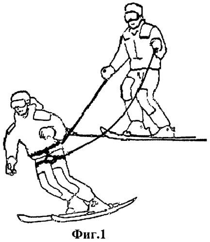 Способ обучения поворотам на горных лыжах и сноуборде и устройство для осуществления способа