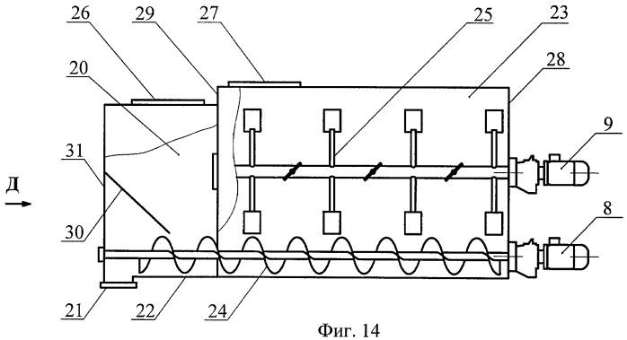 Способ работы циркуляционного смесителя и циркуляционный смеситель