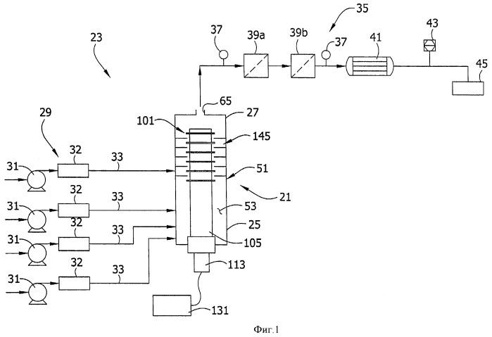 Камера для ультразвуковой обработки жидкости (варианты)