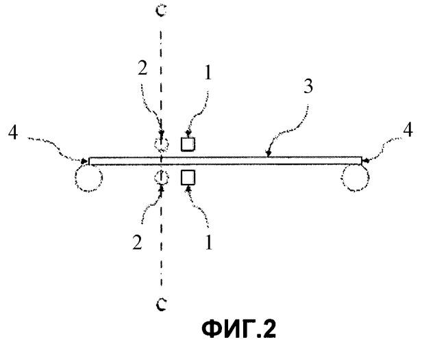 Способ и система для стабилизации металлической полосы на основе формы нормальных колебаний