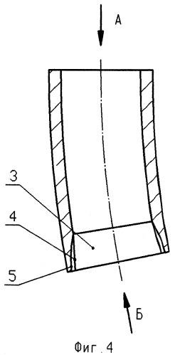 Гильза кристаллизатора для непрерывного литья сортовых заготовок прямоугольного сечения