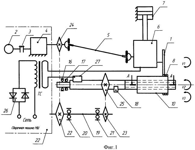 Установка для электроконтактной наплавки деталей машин