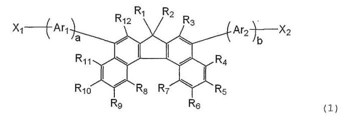 Дибензо[c,g]флуореновое соединение и органическое светоизлучающее устройство, использующее указанное соединение