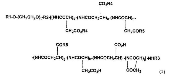 Высокомолекулярный конъюгат подофиллотоксинов