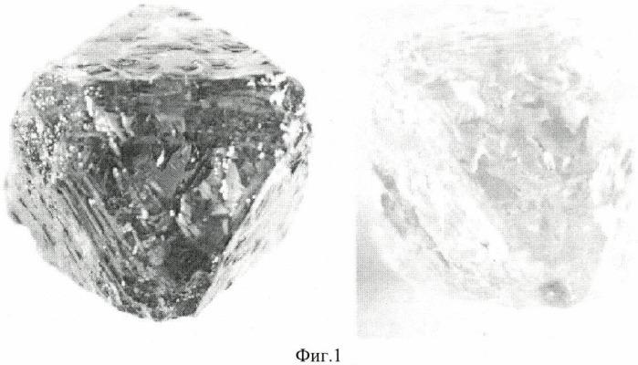 Способ очистки крупных кристаллов природных алмазов