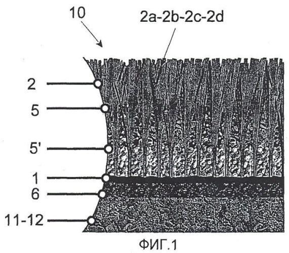 Волокно для образования искусственной газонной травы, а также искусственный газон, по меньшей мере, содержащий волокно для искусственной газонной травы