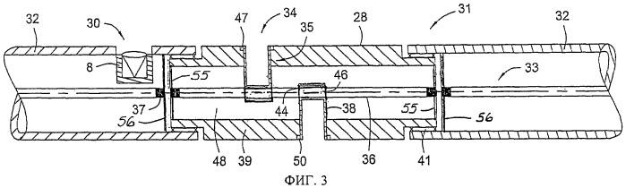 Соединительный переходник, перфораторная система и способ перфорирования скважины