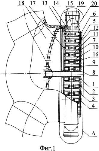 Смесительный элемент для форсуночной головки камеры жрд