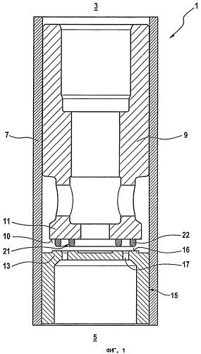 Клапанный модуль для подачи текучих, прежде всего газообразных, сред