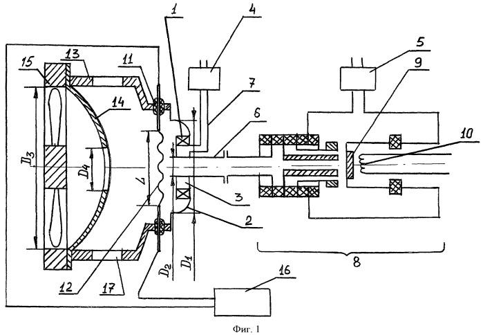 Система для дистанционного отбора и анализа воздушных проб