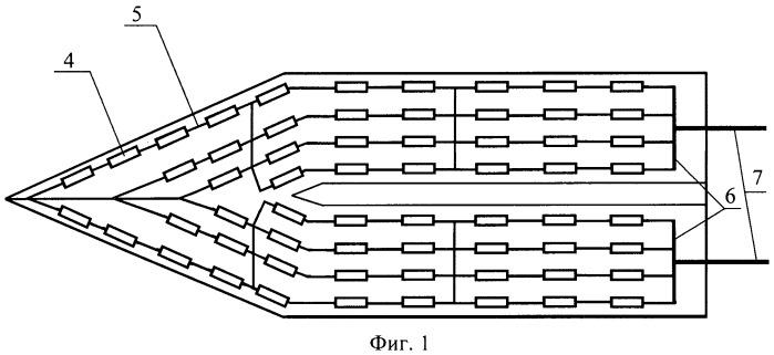 Тонкопленочный тепловой датчик с волноводным входом для измерения мощности импульсного свч излучения