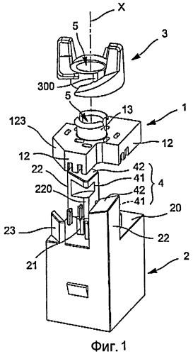 Быстромонтируемое соединительное гнездо для многожильного кабеля