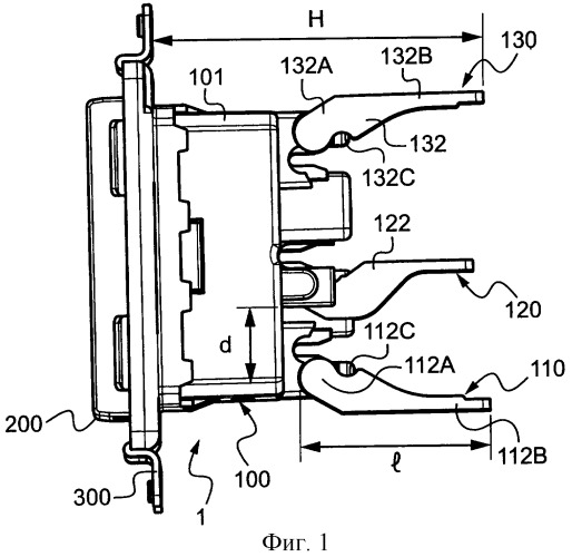 Электрический прибор с приоритетными автоматическими электрическими соединениями