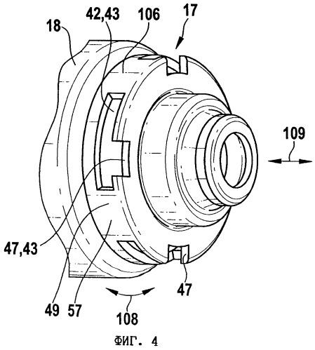 Электродвигатель и редукторный приводной блок для исполнительных приводов в транспортных средствах