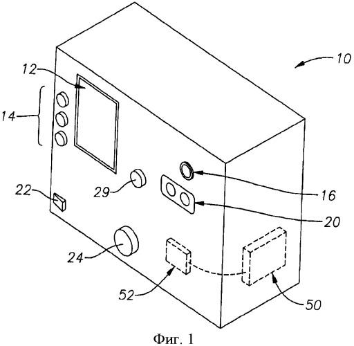 Устройство и способ для автотитрации лазера