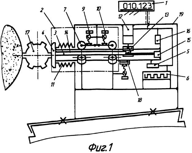 Устройство для активного контроля линейных размеров изделий