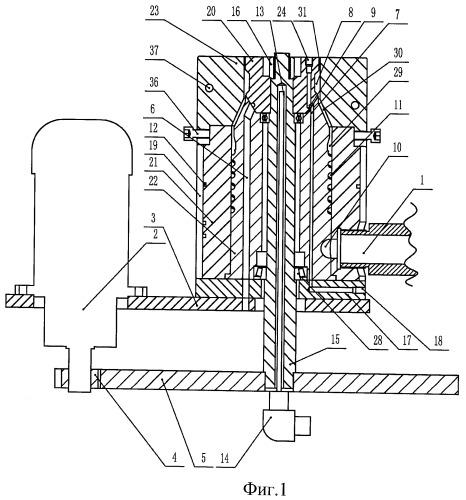 Вращающаяся экструзионная головка экструдера для получения биоразлагающейся пленки на основе крахмала экструзией с раздувкой