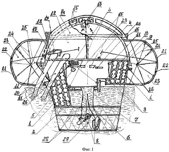 Автономное плавучее спасательное устройство в.а. кульдина