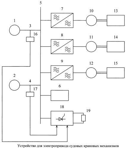 Устройство для электропривода