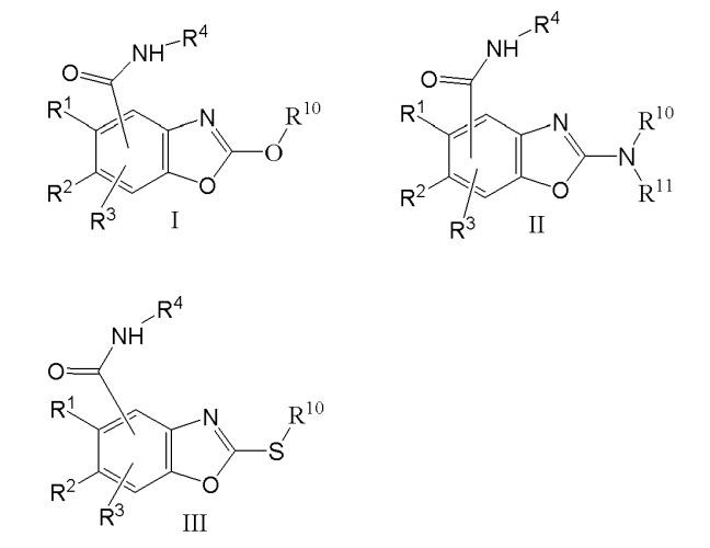 2-аминобензоксазолкарбоксамиды в качестве модуляторов 5-нт3