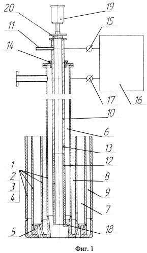 Многофункциональная фурма для металлургического вакууматора