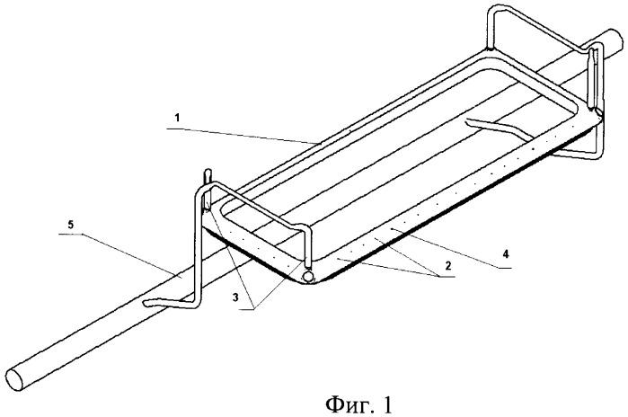 Способ улавливания анодных газов из алюминиевого электролизера