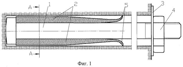 Металлорезиновый анкер клиновой (мак)
