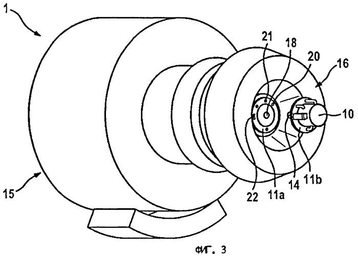 Газотурбинный двигатель с установленным на нем съемным образом узлом генератора