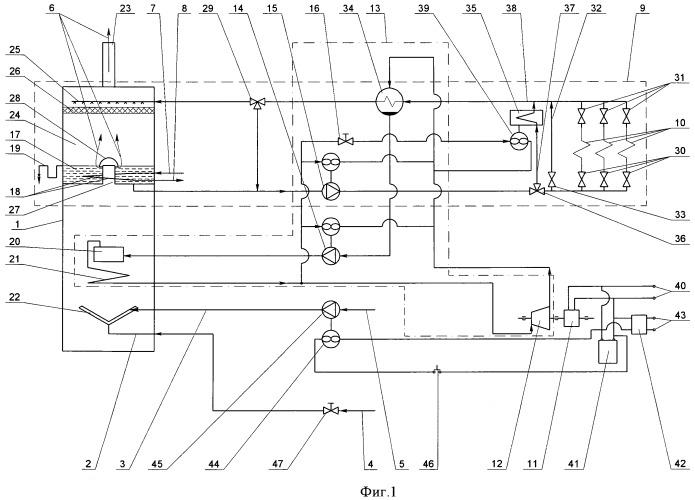 Автономная энергогенерирующая система