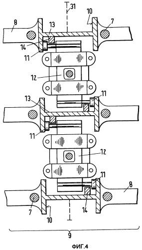 Большой крейцкопфный дизельный двигатель