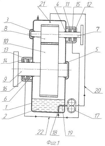 Зубчатый редуктор с системой уплотнений валов
