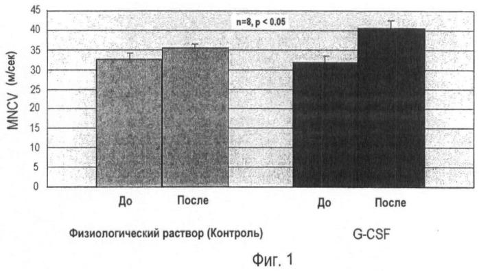 Содержащий g-csf агент для предупреждения и лечения диабетической периферической нейропатии