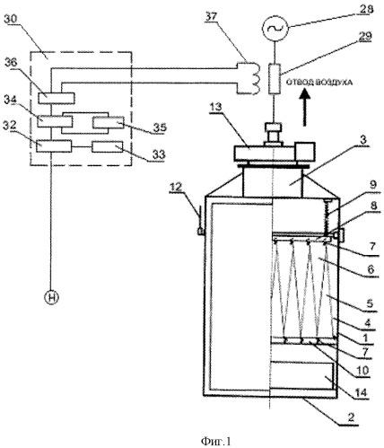 Фильтр для очистки воздуха от пыли