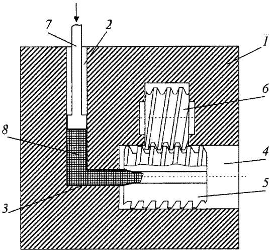 Устройство для деформирования заготовок с обеспечением комбинированной интенсивной пластической деформации