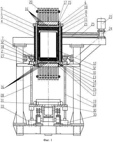 Силовой модуль агрегата для обработки деталей