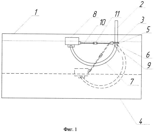 Плавающее заборное устройство резервуара и способ его установки