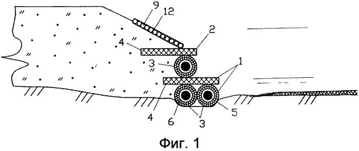 Способ возведения подпорной стенки биопозитивной конструкции