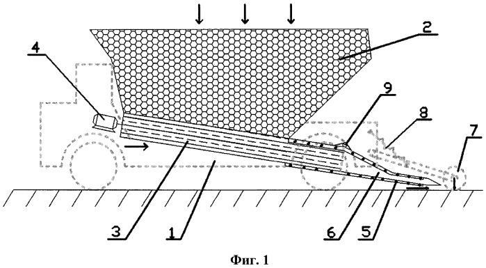 Устройство для нанесения противофильтрационного покрытия