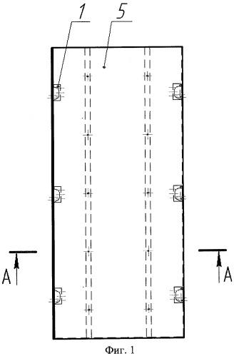 Трехслойная панель повышенной прочности и способ ее изготовления