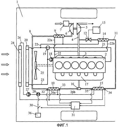 Устройство для двигателя внутреннего сгорания с наддувом