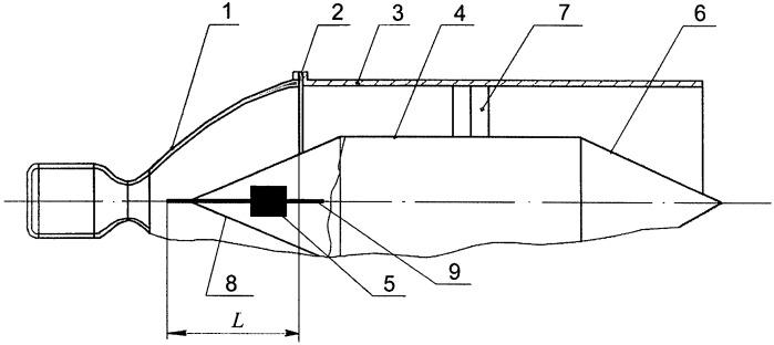 Устройство для испытаний жидкостных ракетных двигателей