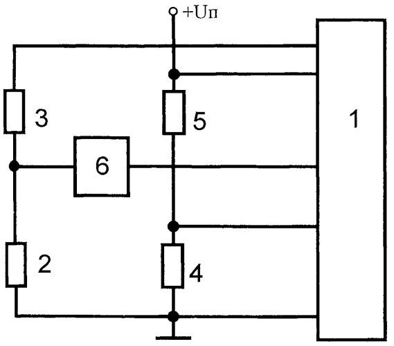 Микроконтроллерный измерительный преобразователь для резистивного датчика