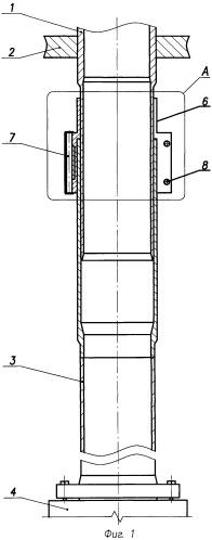 Тракт технологического канала ядерного уран-графитового реактора