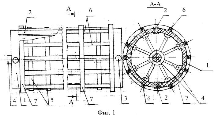 Шаблон для намотки обмоток силовых трансформаторов и реакторов