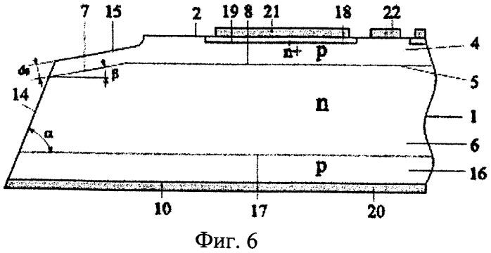 Способ изготовления высоковольтного силового полупроводникового прибора